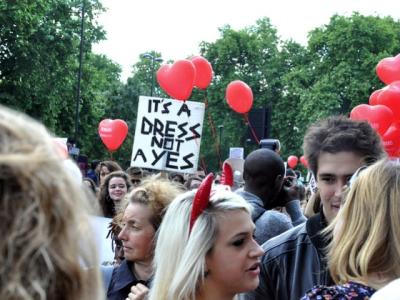 Slutwalk – comical name, powerful message.